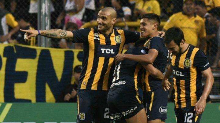 Central goleó a Godoy Cruz y consiguió una victoria indispensable