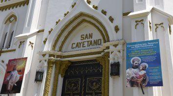 República de la sexta. San Cayetano tiene su tempo en el barrio al que habían llegado muchos italianos.