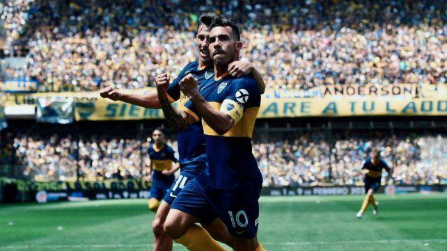 Con Tevez como figura, Boca se suma a la punta tras golear a Arsenal