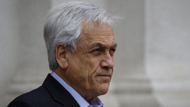 Mal clima. Piñera ganó con holgura en noviembre de 2017. Hoy es desaprobado por el 79% de los chilenos.