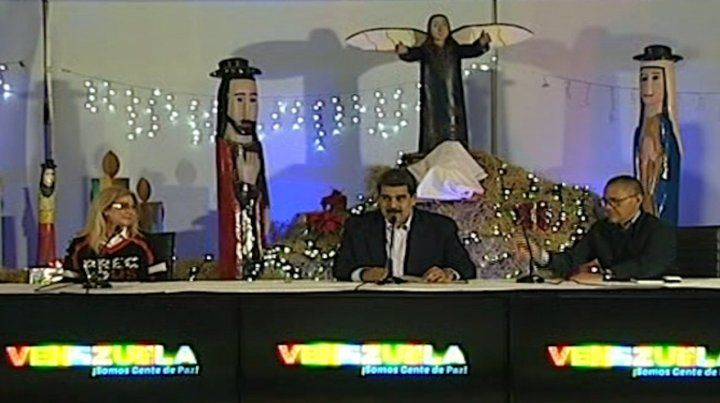 Maduro anunció que en Venezuela habrá dos meses de festejos navideños