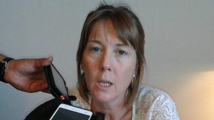La jueza de primera instancia Valeria Pedrana.