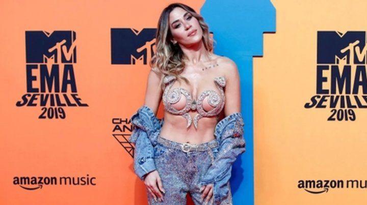 Jimena Barón, mejor artista latina para los MTV europeos