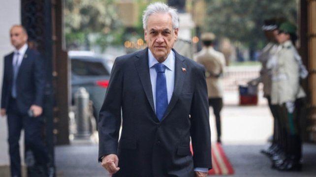 preocupado. El presidente Sebastián Piñera ayer