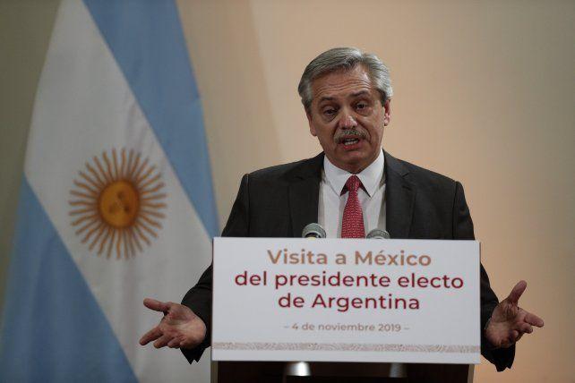 Alberto F.: El 10 de diciembre no cambia la realidad económica argentina, sino un gobierno