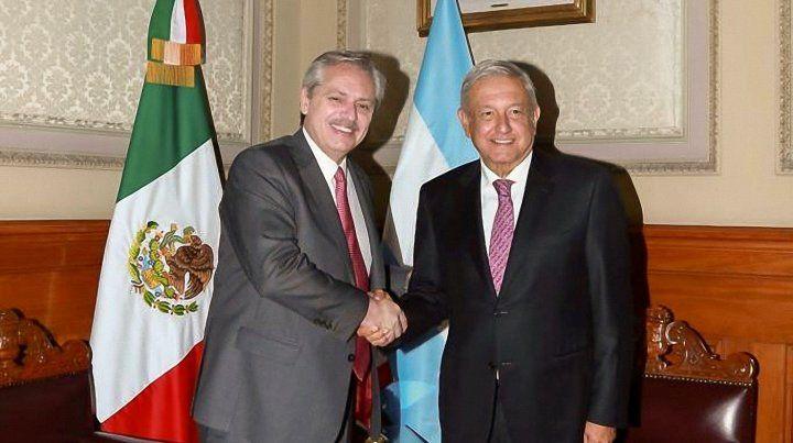 Alberto Fernández recibió un categórico apoyo de parte de López Obrador.