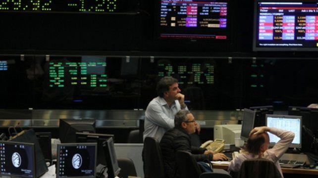 alza. El panel líder de las acciones porteñas experimentó un fuerte rebote ayer