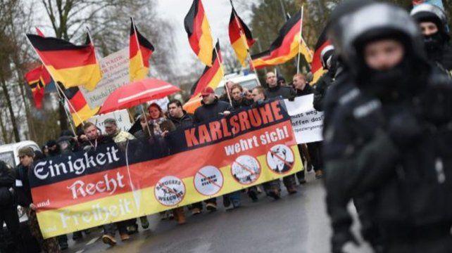 Una ciudad alemana se declaró en estado de emergencia por nazismo