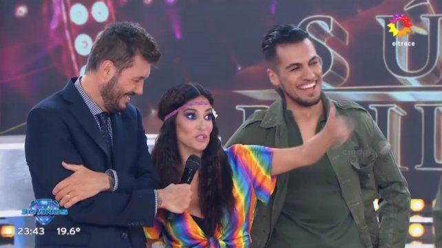 Silvina Escudero le respondió a Angel de Brito anoche en el Bailando