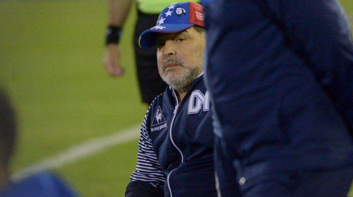 El martes pasado Maradona estuvo en Rosario