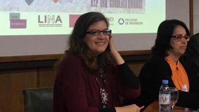 Las arquitectas Inés Moisset y Carolina Quiroga
