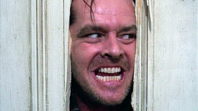 Jack Nicholson en El resplandor.