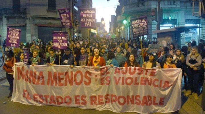 Reclamo que no cesa. Las marchas exigiendo el fin de la violencia machista pusieron en el centro de la escena una coyuntura que interpela.