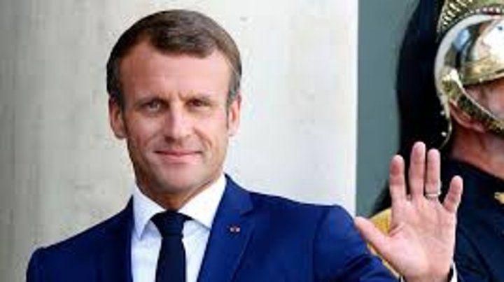 Macron sumó su saludo al presidente electo