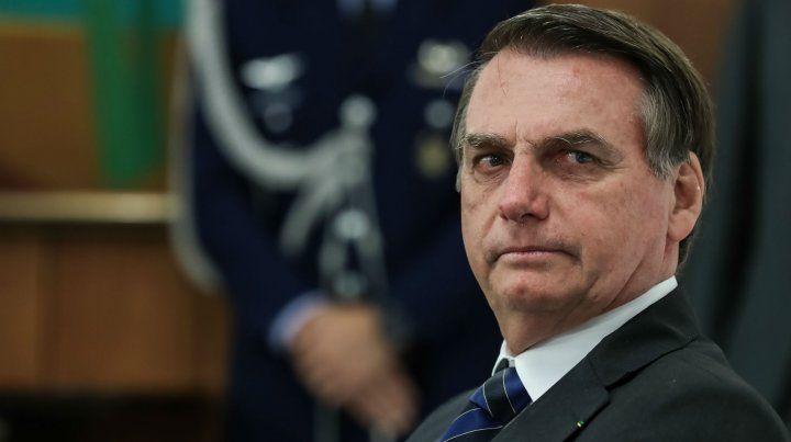 El papelón de Bolsonaro: anunció el cierre de empresas en Argentina