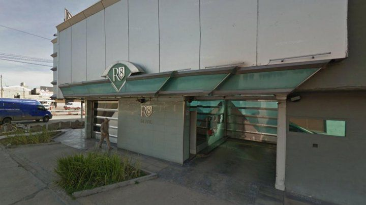 El motel del partido bonaerense de Tres de Febrero donde ocurrió el hecho.