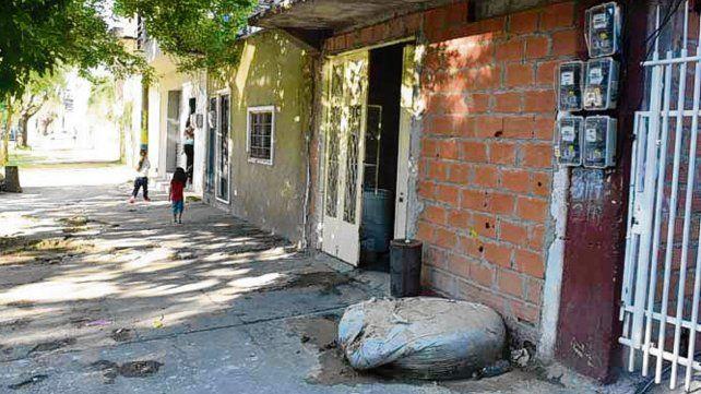 a salvo. El desalojo tenía en vilo a 47 familias del barrio.