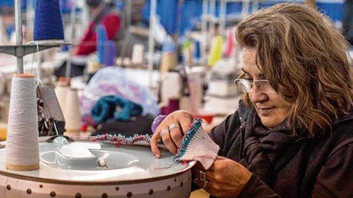 trabajo. El sector textil fue la rama industrial que más empleo perdió.