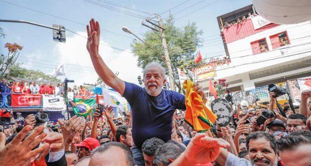 Alberto y Cristina, felices con la liberación de Lula da Silva