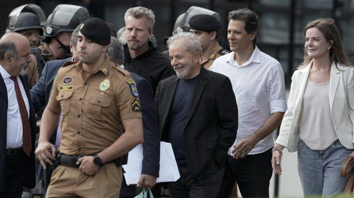 Alberto Fernández y Cristina celebraron la liberación de Lula
