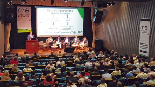 nuevo ciclo. El análisis sobre los posibles lineamientos de la política económica del nuevo gobierno concentraron el debate de la jornada de Agroeducación.