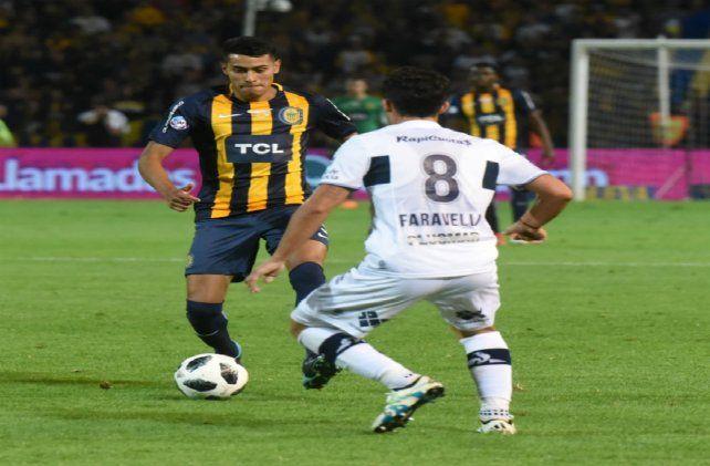 Ojeda disputó la final del año pasado de la Copa Argentina en el título obtenido ante Gimnasia.