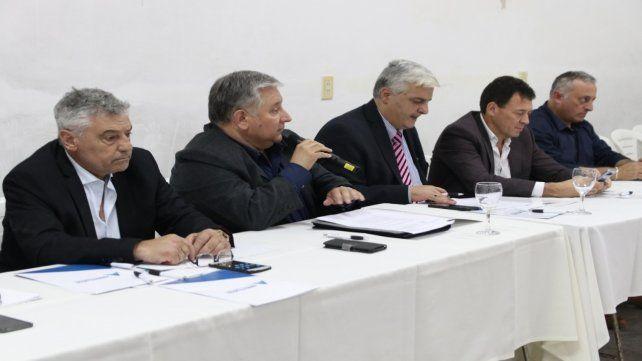 Acuerdos. Los dirigentes comunales unificaron criterios para planificar y trabajar en conjunto.