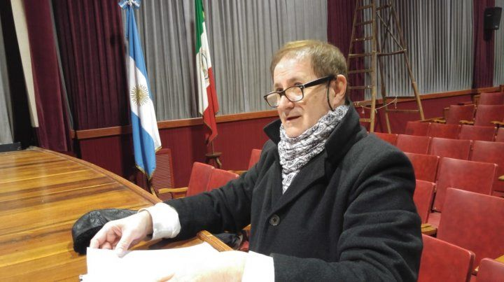 Dolor. Oscar Cacho Balbi dejó huellas en la historia cultural de la región.