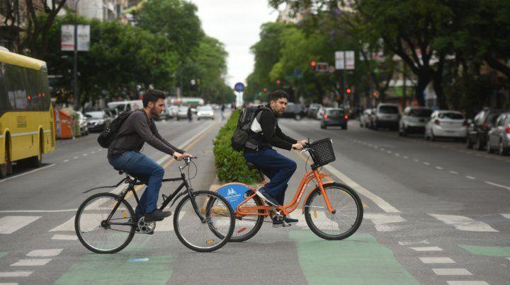 Municipales. El sistema Mi Bici Tu Bici ganó popularidad.