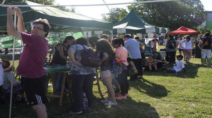 Actividades a la vera del Paraná. Hubo talleres