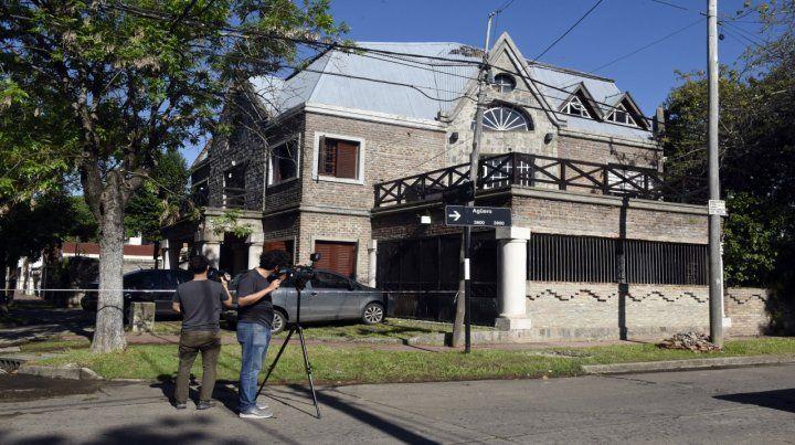 Pago Largo 654. La mansión donde mataron a Sandoval hace dos semanas. Estaba allí desde mayo.