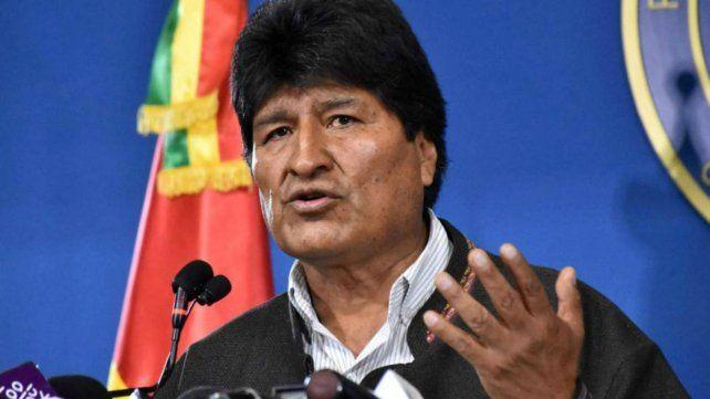 Evo Morales convocó a nuevas elecciones en Bolivia