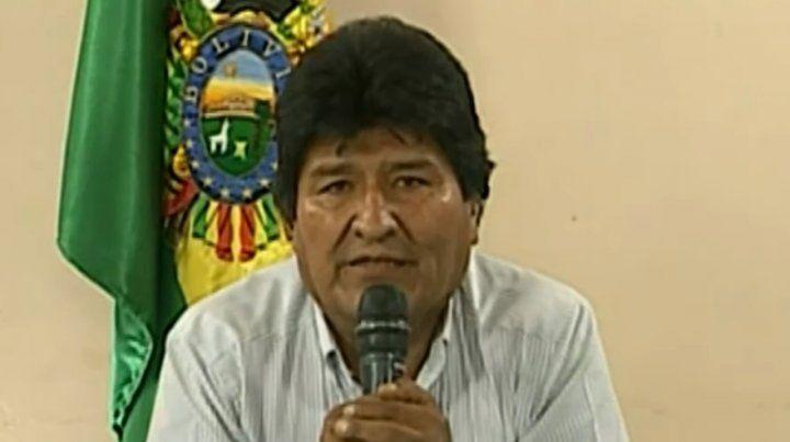 Evo Morales renunció a la Presidencia de Bolivia