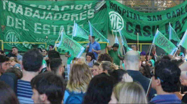 Los trabajadores nucleados en ATE paran este miércoles y jueves en defensa del salario
