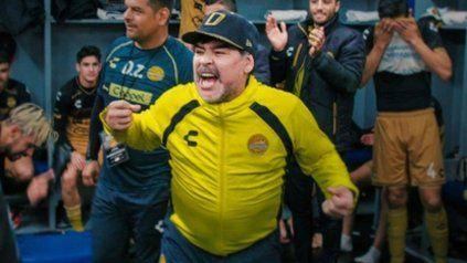 Maradona imprimió su entusiasmo a una ciudad y un equipo que intentó conseguir el ascenso a la Liga Mexicana de Fútbol.