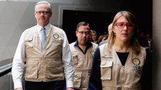 Con lupa. La misión de observadores electorales de la OEA en Bolivia.