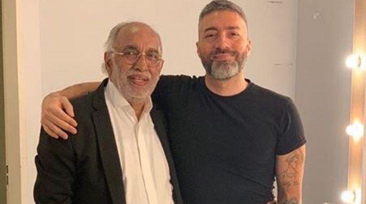El Negro González Oro presentó a su nuevo novio