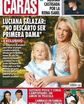 Luciana Salazar se postuló para ser primera dama de la Argentina