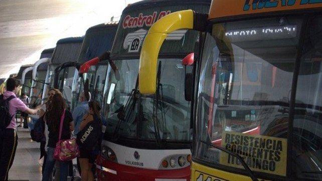 Advierten que está en riesgo la continuidad del transporte de pasajeros en toda la provincia
