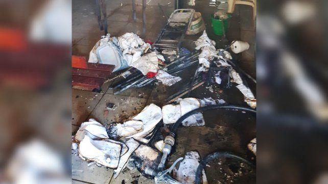 Sospechan que fue intencional el incendio en el santuario de la Virgen de Schoenstatt - La Capital (Rosario)