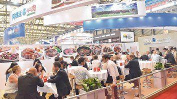 de gira. La delegación argentina del IPCVA estuvo presente en la Feria Internacional de Importadores de Shanghai.