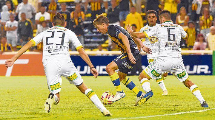 El último choque. El canalla recibió en febrero de este año a Aldosivi. Ese choque terminó igualado sin goles.