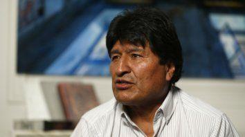 Evo Morales le agradeció la invitación a Alberto Fernández