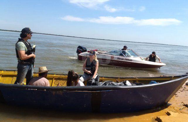 Los falsos pescadores hicieron al menos cuatro viajes en menos de un mes. (Foto: diario Uno de Santa Fe)