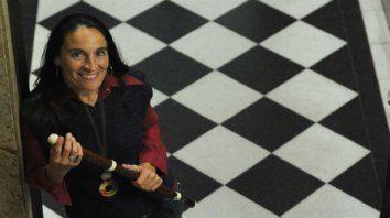 Actualidad. Diana Baroni destacó la vida de Emidy como una metáfora.