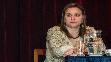 Jueza. Silvia Castelli le impusó a la acusada prisión preventiva por dos años.