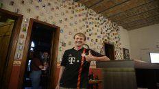 Andy koch. Nació en Volkersleier (Alemania) y se enamoró de Sudamérica a través del fútbol.