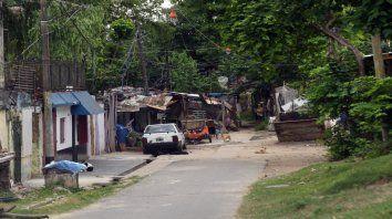 Pasaje Ensenada al 5200, en la zona sur de la ciudad, escenario del crimen de David Rodríguez.