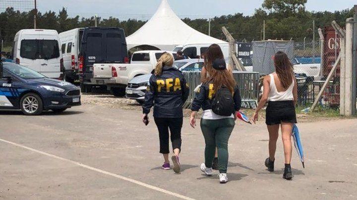 La Policía Federal realizó el operativo el pasado domingo en el autódromo.