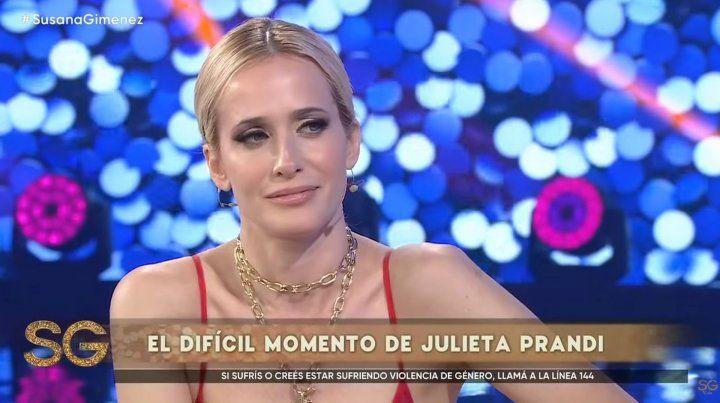 Julieta Prandi contó detalles de los engaños y estafas que sufrió de su exmarido